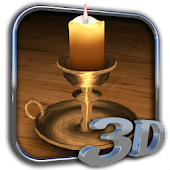3D Melting Candle