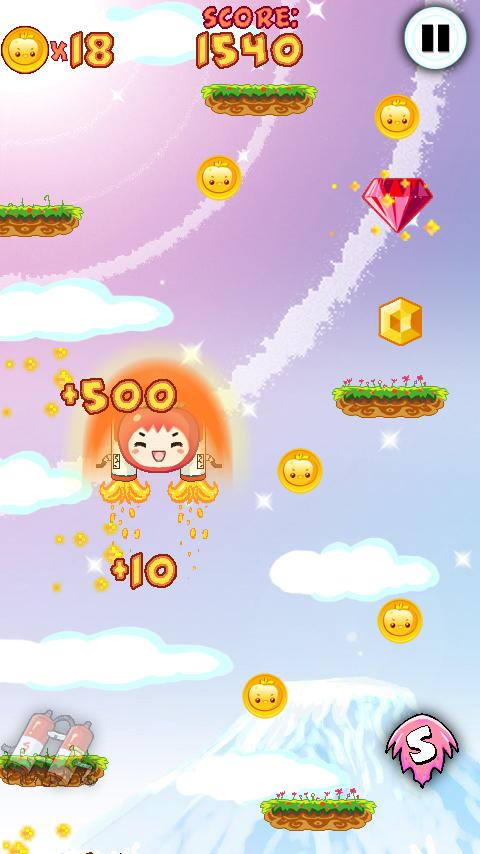 Fruit Jump ! - screenshot