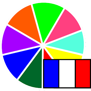 Colors in French for PC and MAC