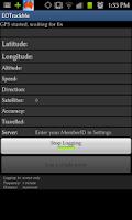 Screenshot of EOTrackMe