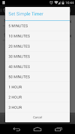 Music Sleep Timer Screenshot 2