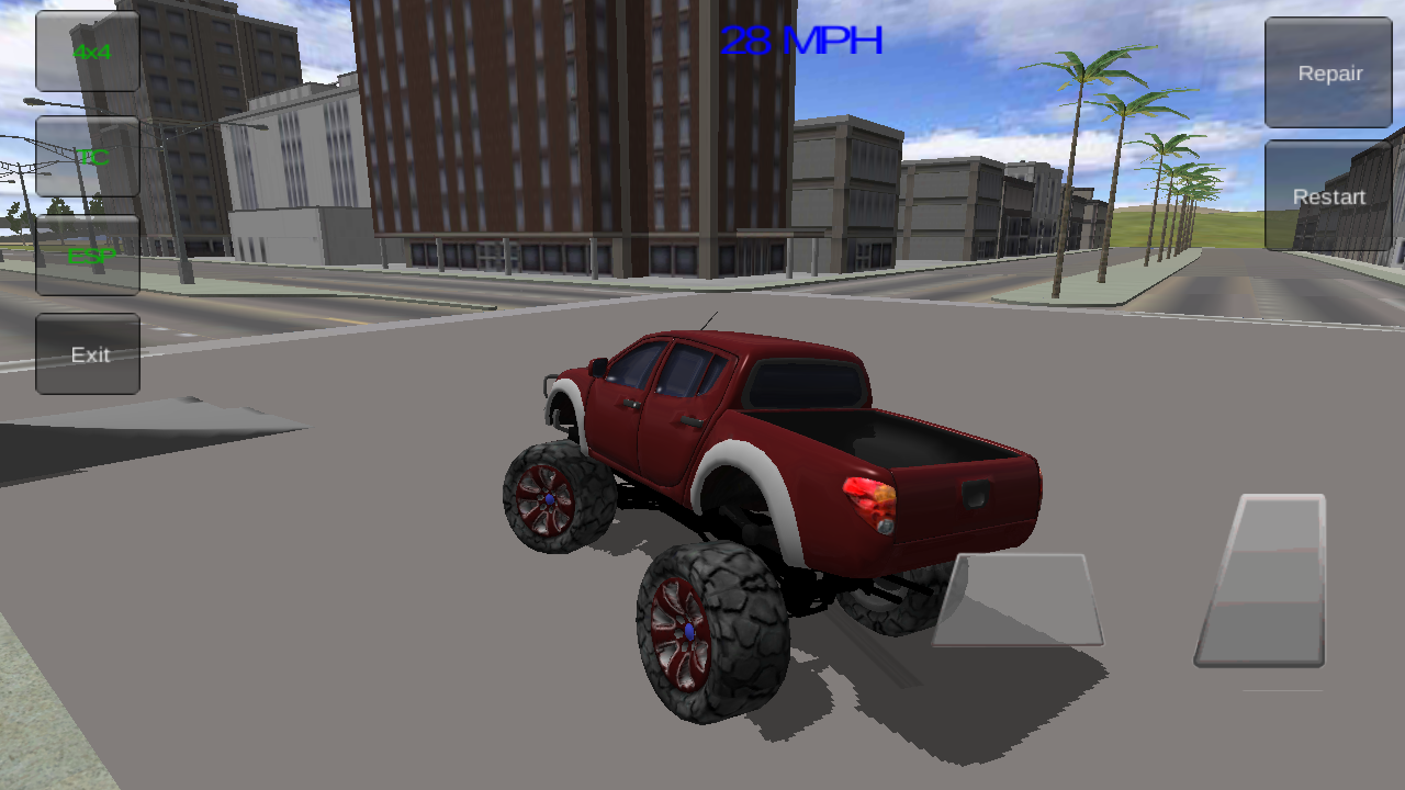 4x4 monster truck 3d android apps on google play. Black Bedroom Furniture Sets. Home Design Ideas