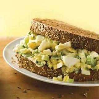Gourmet Egg Salad Sandwich.