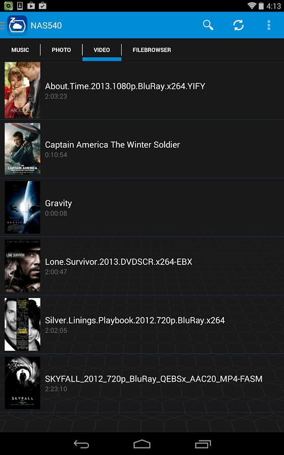 zCloud - screenshot