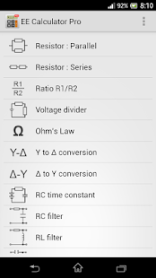 Electronics Toolbox Pro Screenshot