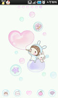 Screenshot of BeBe Bubble Theme