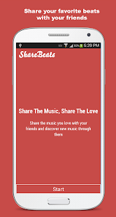 Share or Send Music: ShareBeat - screenshot thumbnail
