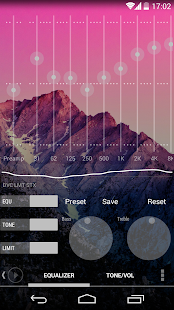 Poweramp skin KK Transparent v1.0.1