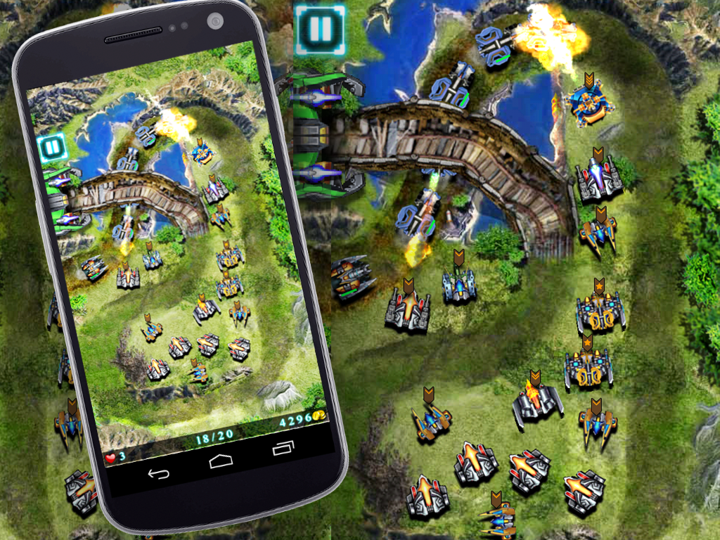 Galaxy Defense (Tower Game)- screenshot