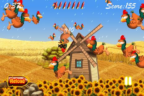 Hühner Schießen