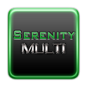 Serenity Launcher Theme Green logo