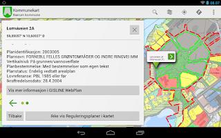 Screenshot of Kommunekart - Map of Norway