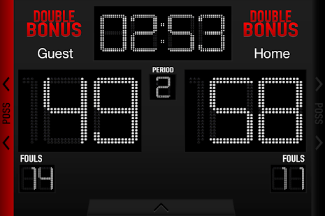 Basketball Scoreboard- screenshot thumbnail