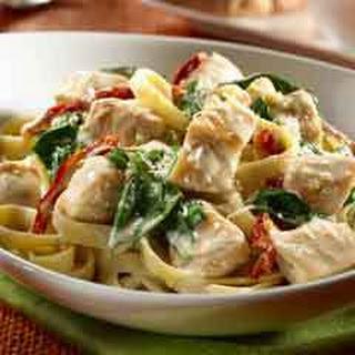 Chicken & Pasta Florentine.