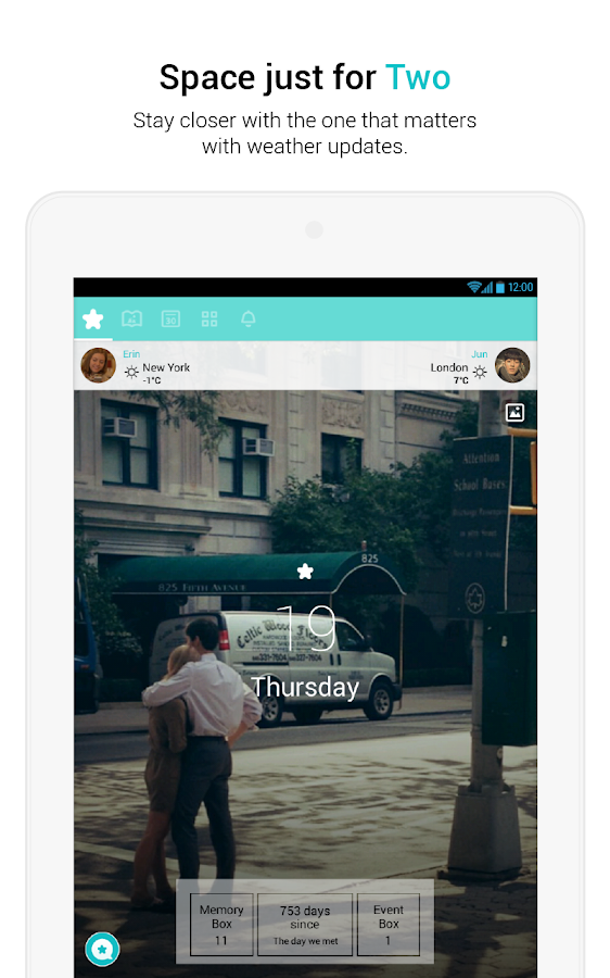 Between - Private Couples App - screenshot