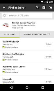 REI – Shop Outdoor Gear - screenshot thumbnail