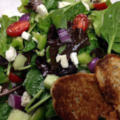 Greek Salad & French Bread