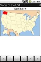 Screenshot of Mnemododo: USA States
