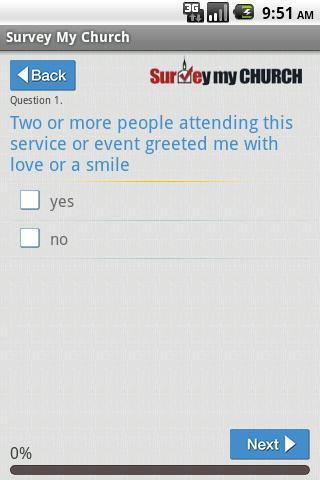 免費生活App|Survey My Church Free|阿達玩APP