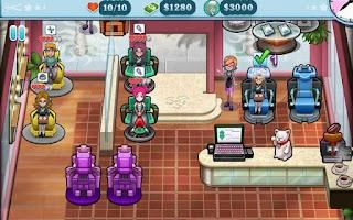 Screenshot of Sally's Salon Luxury Edition
