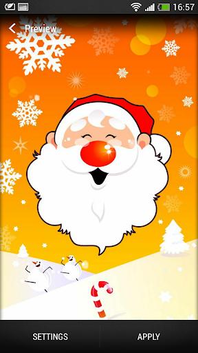 聖誕老人 動態壁紙