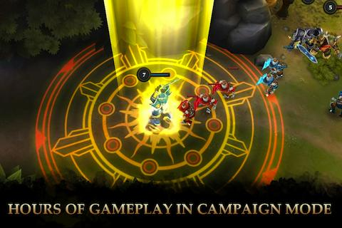 Game Mirip Dota 2 Untuk Android : Legendary Heroes Apk+Data v1.8.8 Mod All Unlimited