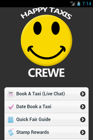 Happy Taxis Crewe