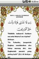 Screenshot of doa-doa islam