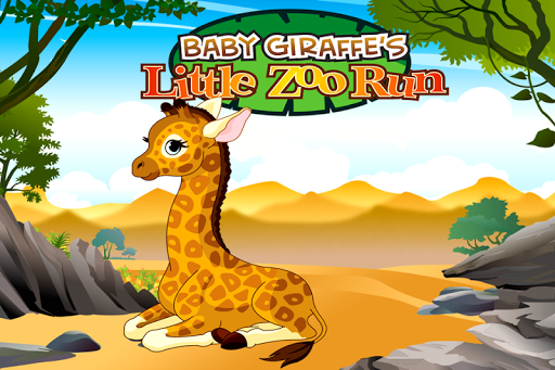 Baby Giraffe Little Zoo Run