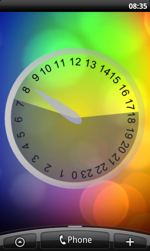 Daylight Clock- screenshot