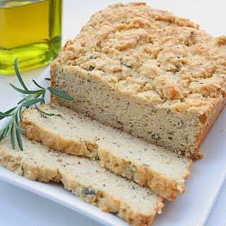 Rosemary Olive Oil Quick Bread (Low Carb).