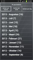 Screenshot of CTA Rit Registratie FULL