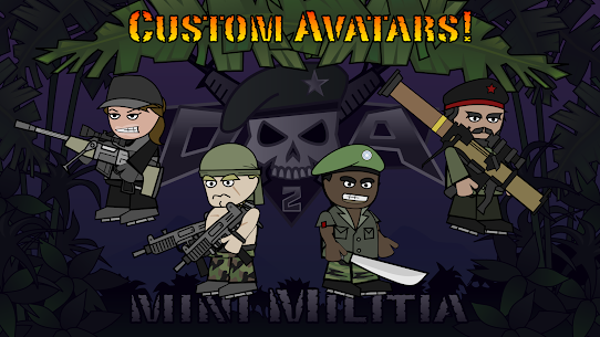 Doodle Army 2 Mini Militia MOD APK Pro Pack Purchased 4.2.5 10