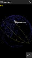 Screenshot of 3D Satellite Tracker