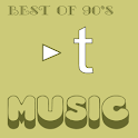 Trispur Music  – Best of 90's logo