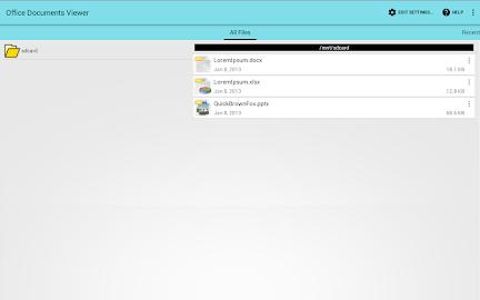 Office Documents Viewer (Full) Screenshot 3
