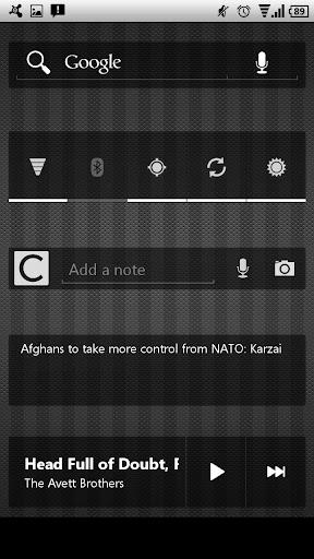 Frost v4.3 CM10 & AOKP Theme apk