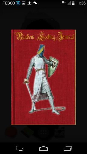Random Looting Journal RPG