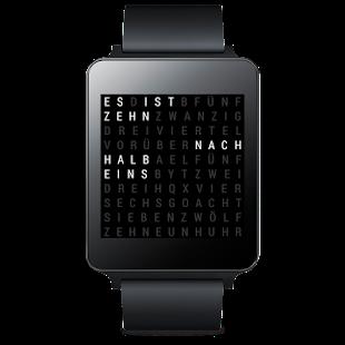 WTime Wear Uhr Watch Face