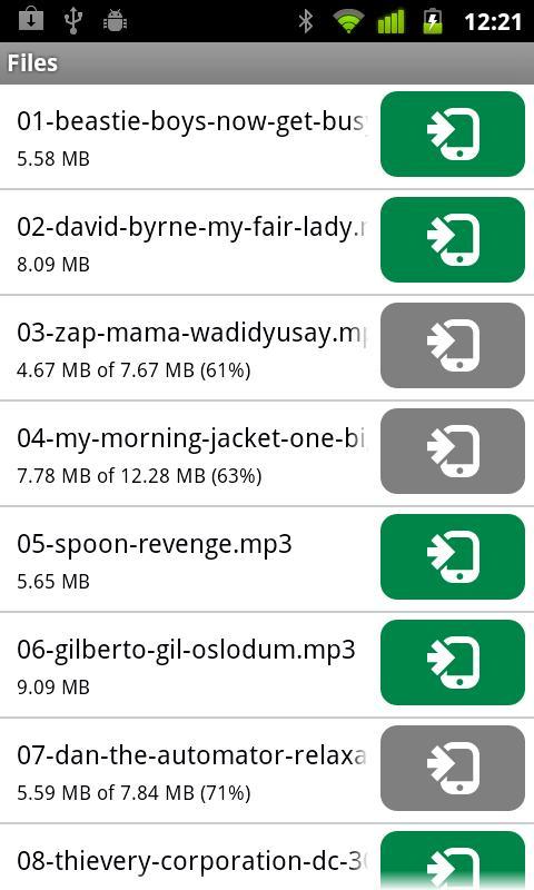 µTorrent®  Remote- screenshot
