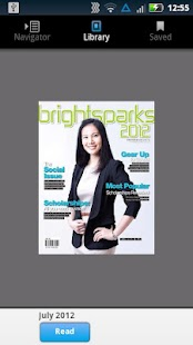 BrightSparks Magazine - screenshot thumbnail