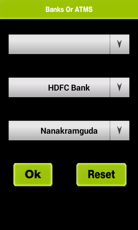 Hyderabad Banks & Atms Locator - screenshot