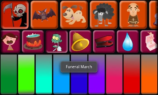 Kids Halloween Piano Free- screenshot thumbnail