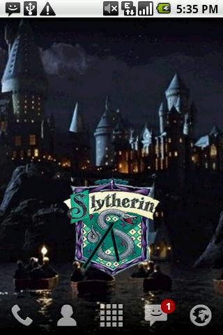Harry Potter Slytherin Clock - screenshot