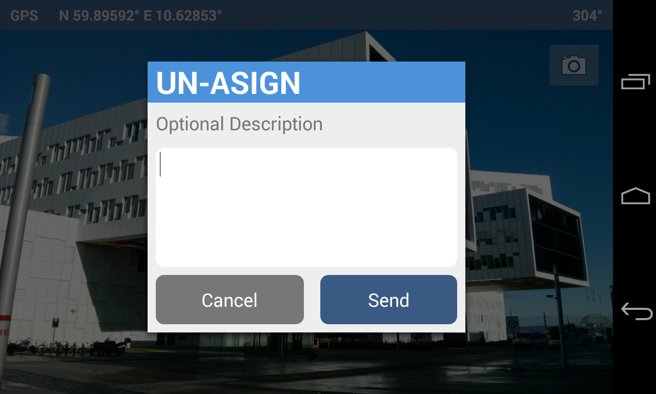 UN-ASIGN - screenshot