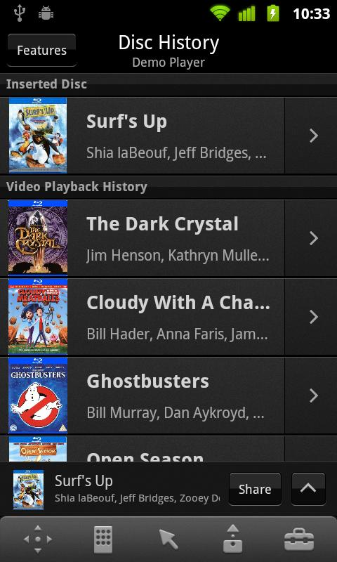 Media Remote for Android - screenshot