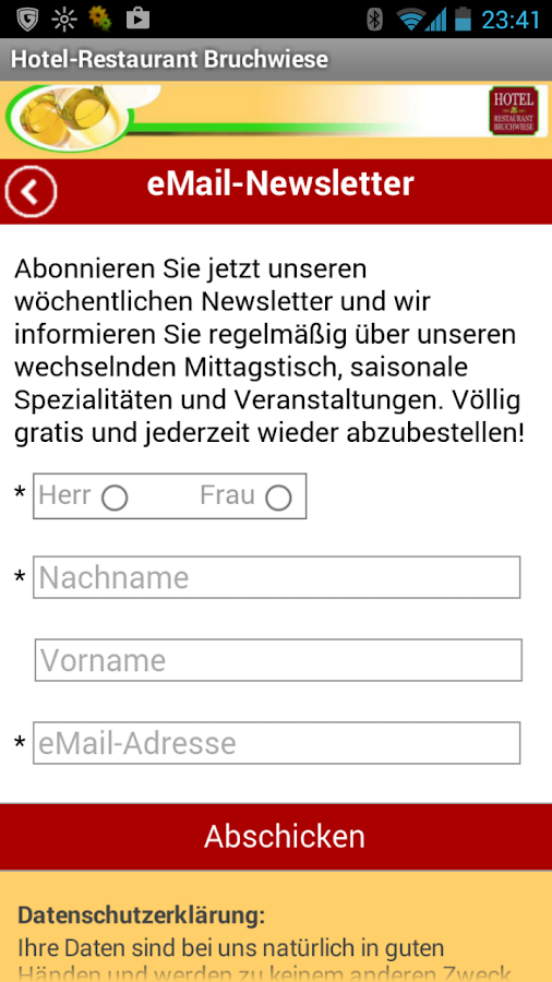 Bruchwiese- screenshot