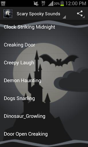 Scary Spooky Sounds