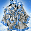 Krishna With Radha Live Wallpa icon