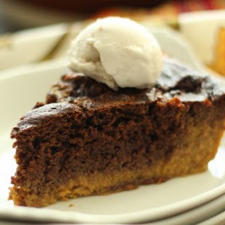 Brownie Pumpkin Pie